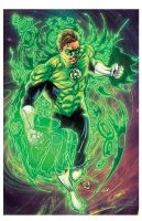 green lantern commission by joeprado2010 XGX by knytcrawlr