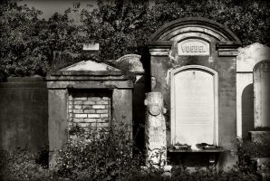 Tombs of Lafayette Cemetery by SalemCat