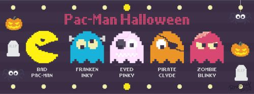 Halloween Pac-Man by Frog-FrogBR