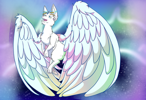 Fly to the lights .:Speedpaint:. by Mo-fox