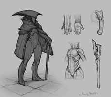 Sketchy concept stuff by RovingNeophyte