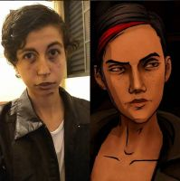 The Wolf Among Us- Cosplay - Bloody Mary by DenidenideniD