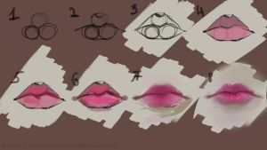 Tutorial lips by EvilInspiration