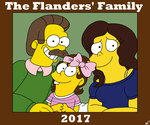 The Flanders' family photo :: PCOMM :: by NintendoRainbow