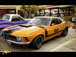 Ford Mustang Boss 302 1970 by pacee