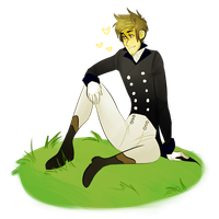 Regency!Gavin by makeupaname