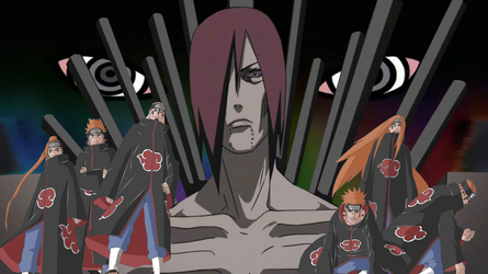 Wallpaper Nagato And Six Path Of Pain By Ratedrcarlos On Deviantart
