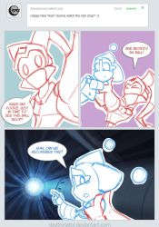 Ask Jake and Beta: New Years Day by Deathinator