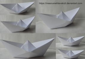 Paper Boat Stock Pack by DigitalDreams-Art