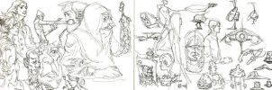 Double sketch drop by bolognafingers