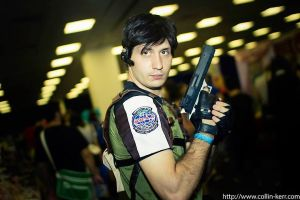 Chris Redfield Photoshoot 3 by D4RKPR1NCE-86
