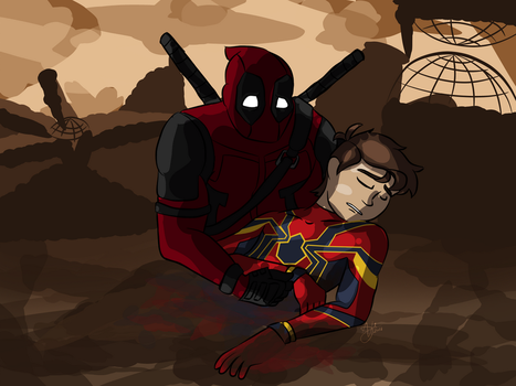 Spideypool: Out of ashes by HTF-ADTI-MLP100606