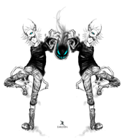 Monster Twins by Earlstein