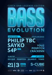 DNB Evolution 21/03/2014 flyer by 2NiNe