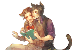:InvisibleFriend: Niels and Colton by Chuuchichu