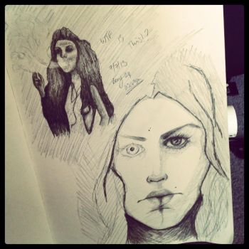 Sketchy Sketch... by AmyAutumn