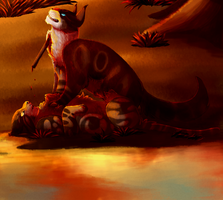 The Lake Will Run Red by cryptidcrocuta