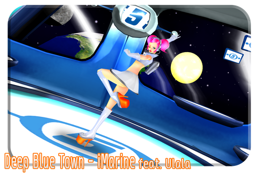 [Deep Blue Town] Ulala - Space Channel 5 Pt.2 MMD by Inochi-PM
