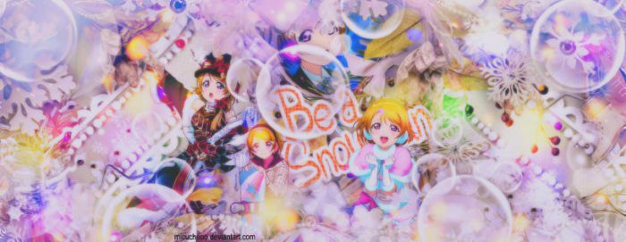 [ Cover Scrapbook ] BE A SNOWMAN by Micucheoo