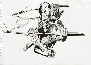 Deathstroke by EnemyoftheSteak