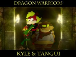 Dragon Warriors Kyle and Tangui by KyleStudios