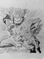 Father-Son Kamehameha by BlueTyphoon17