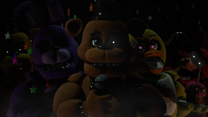 (FNaF SFM) Happy 2nd Birthday FNaF! by Tem-Zilla