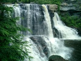 Blackwater Falls West Virginia by miss-chaotique
