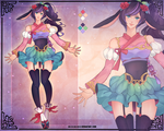 [COMMISSION] Custom Adoptable for Peachtail by Z-E-N-E-R-O