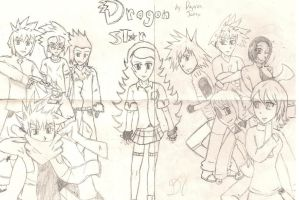 Dragon Star Poster 09-10 OC CONCEPT by ProtoScene