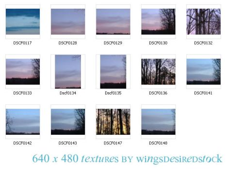 Sunrise Pack 01 by wingsdesiredstock