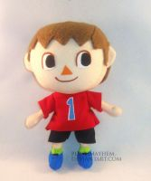 AC/SSB Villager by PlushMayhem