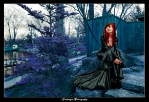 In the Blue Garden by pendragon93