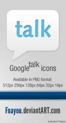 Google Talk Icon by Fnayou