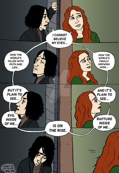 My Eyes (Harry Potter Musical) by Hannu-Illustration