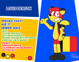 Reference - Louis by RGR98