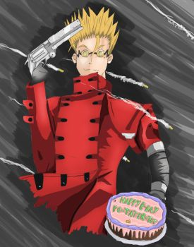 Vash the Stampede by VentureGrey
