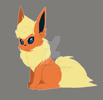 Flareon! by MadaMaste