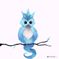 Baby Articuno by LonelyLitten