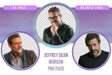 Jeffrey Dean Morgan PNG Pack by Weirdly-PNGS