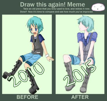 Draw it again!Meme by isoscelestriangle