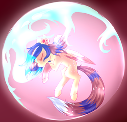 DROWNING bubble by AmiiCommissions