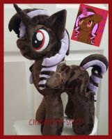 mlp plushie commission CAMI by CINNAMON-STITCH