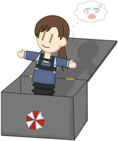 Jill in the Box by P1nkApple