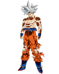 Mastered Ultra Instinct Goku by ruga-rell