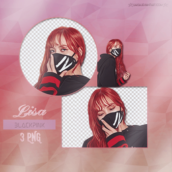 BLACKPINK Lisa 3 PNG PACK #28 by liaksia by liaksia