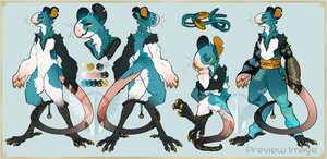 Rat Zodiac AUCTION (closed) by MrGremble