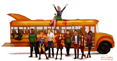 All Grown Up: The Magic School Bus by IsaiahStephens
