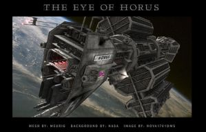 Eye of Horus by Nova1701dms