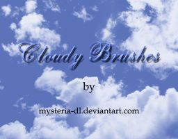 Cloudy Brushes by mysteria-dl